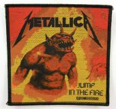 Metallica - 'Jump in the Fire' Woven Patch